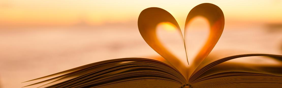 Hart in boek
